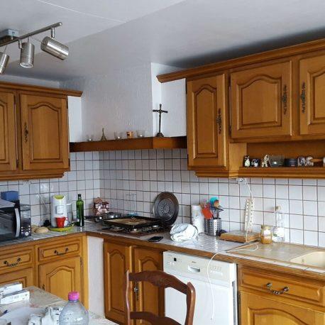 Cuisine aménagée – maison – St Pierre les Elbeuf – ST Immobilier – Elbeuf