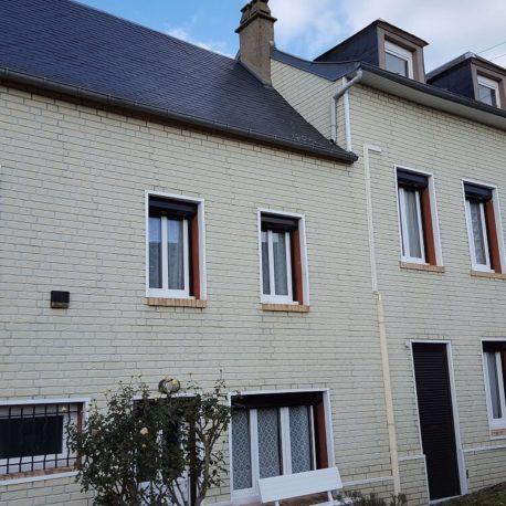 Façade - maison - St Pierre les Elbeuf - ST Immobilier - Elbeuf