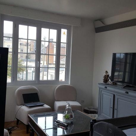 Salon – Maison refaite à neuf – Elbeuf – ST Immobilier Elbeuf