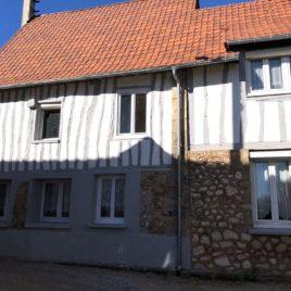 Façade - maison F4 - Freneuse - ST Immobilier Elbeuf