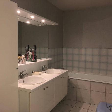 Salle de bains – maison F4 – Freneuse – ST Immobilier Elbeuf