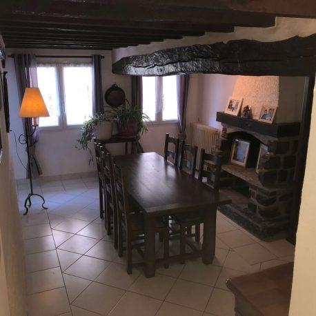 Salle de séjour – maison F4 – Freneuse – ST Immobilier Elbeuf