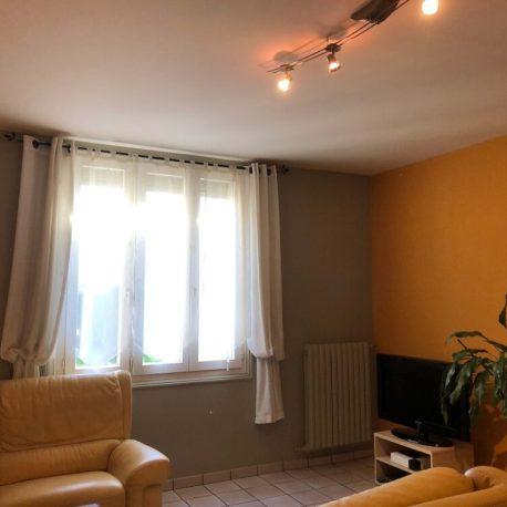 Salon – maison F4 – Freneuse – ST Immobilier Elbeuf