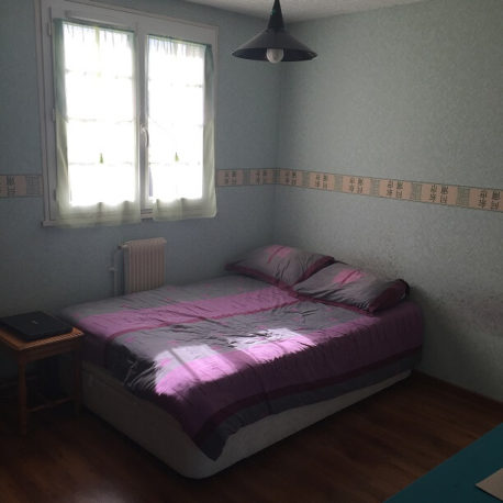 Chambre 1 – maison F5 – St Pierre les Elbeuf – ST Immobilier Elbeuf