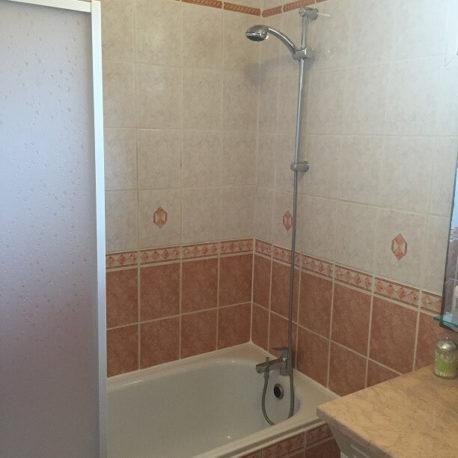 Salle de bains – maison F5 – St Pierre les Elbeuf – ST Immobilier Elbeuf