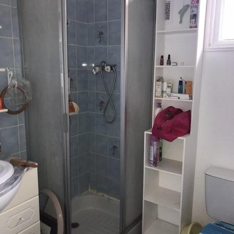 Salle de douches et WC rez de chaussée maison Villers sur Mer – ST Immobilier Elbeuf