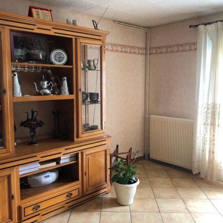 Salle de séjour-salon – maison F5 – St Pierre les Elbeuf – ST Immobilier Elbeuf