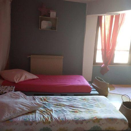 Chambre 2 – maison atypique F4 – St Aubin les Elbeuf – ST Immobilier Elbeuf