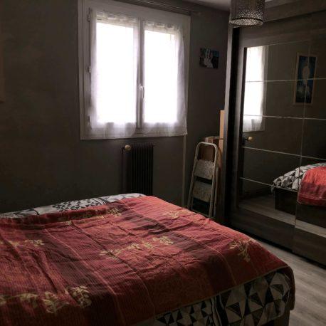 Chambre – maison F3 – St Pierre – ST Immobilier Elbeuf