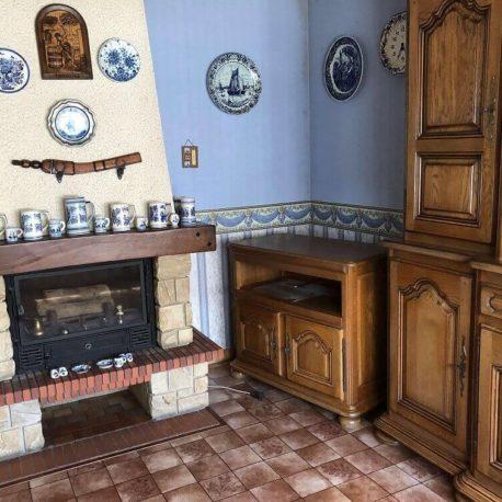 Cheminée – maison F3 – Orival – ST Immobilier Elbeuf