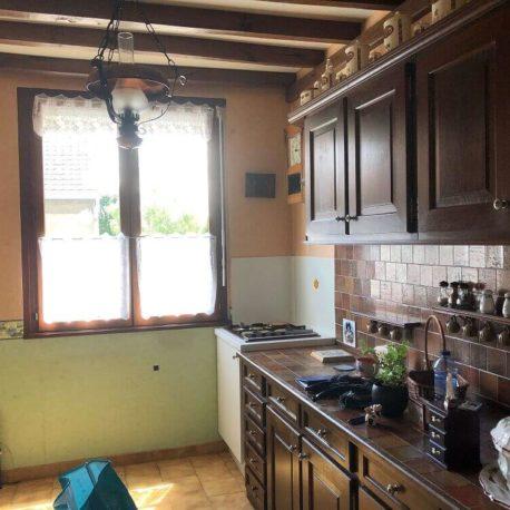 Cuisine aménagée – maison F3 – Orival – ST Immobilier Elbeuf