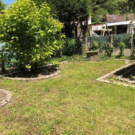 Jardin – maison F3 – Orival – ST Immobilier Elbeuf