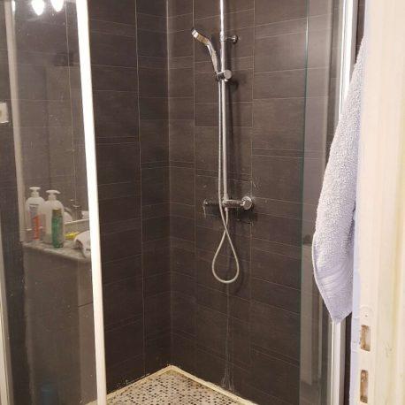 Salle de douches – maison F6 – St Etienne du Rouvray – ST Immobilier Elbeuf