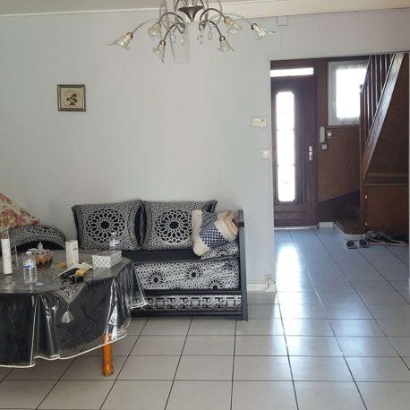 Salle de séjour – maison F6 – St Etienne du Rouvray – ST Immobilier Elbeuf