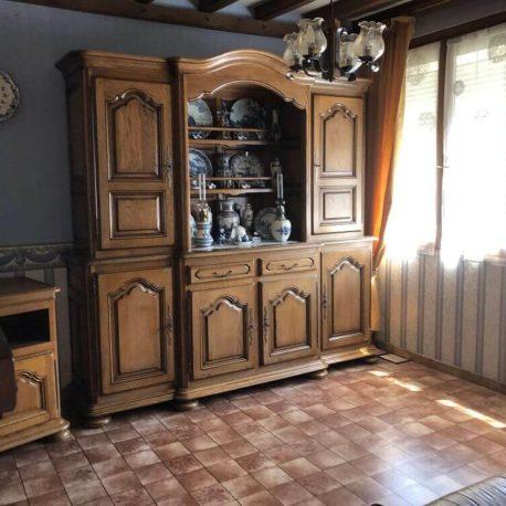 Salle de séjour-salon – maison F3 – Orival – ST Immobilier Elbeuf