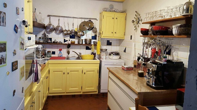 Cuisine aménagée – maison F4 – Tourville la Rivière – ST Immobilier Elbeuf
