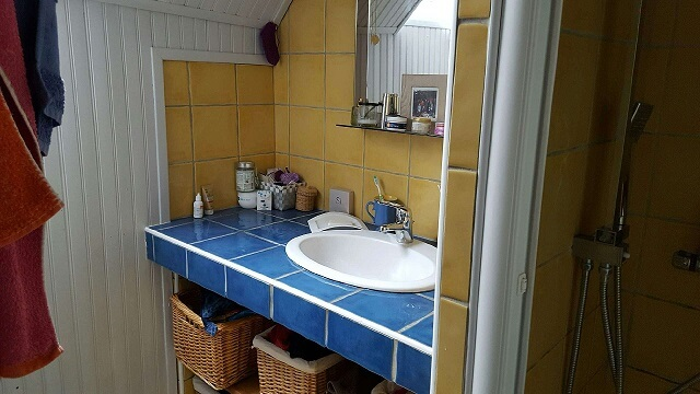 Salle de douches – maison F4 – Tourville la Rivière – ST Immobilier Elbeuf