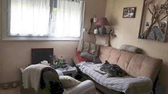 Salon – maison F4 – Tourville la Rivière – ST Immobilier Elbeuf