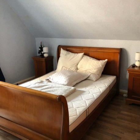 Chambre avec balcon – maison F7 – Sotteville sous le Val – ST Immobilier Elbeuf