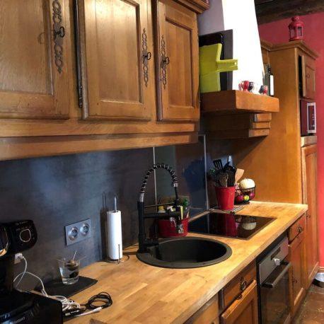 Cuisine ouverte – maison F7 – Sotteville sous le Val – ST Immobilier Elbeuf