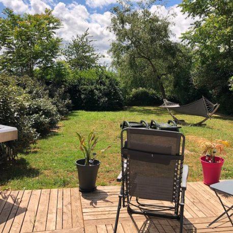 Jardin – maison F7 – Sotteville sous le Val – ST Immobilier Elbeuf