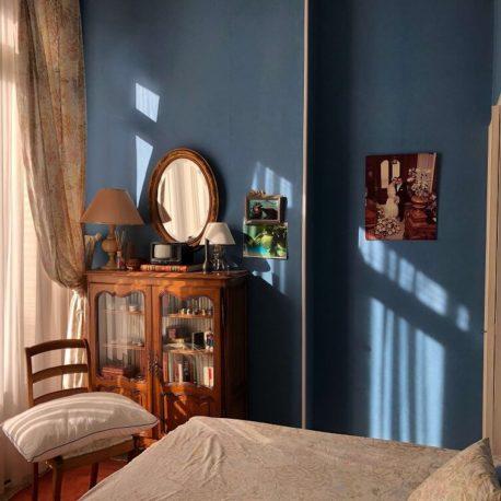 Chambre avec balcon – maison de maître – St Aubin les Elbeuf – ST Immobilier Elbeuf