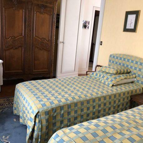 Chambre – maison de maître – St Aubin les Elbeuf – ST Immobilier Elbeuf