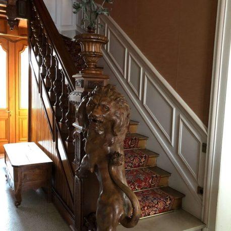 Escalier – maison de maître – St Aubin les Elbeuf – ST Immobilier Elbeuf