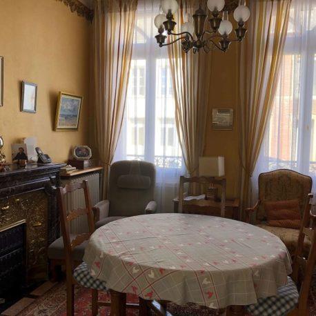 Espace repas cuisine – maison de maître – St Aubin les Elbeuf – ST Immobilier Elbeuf