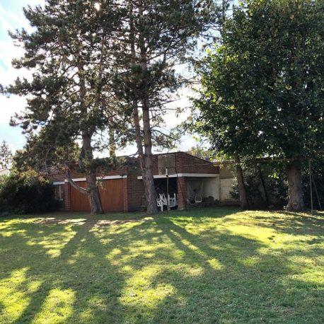 Jardin – maison de maître – St Aubin les Elbeuf – ST Immobilier Elbeuf