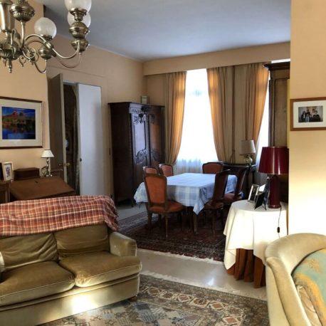 Salle de séjour – maison de maître – St Aubin les Elbeuf – ST Immobilier Elbeuf