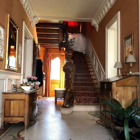 Vestibule – maison de maître – St Aubin les Elbeuf – ST Immobilier Elbeuf