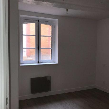 Chambre 1 – appt F3 – rue de Clieu – Dieppe – Exclusivité – ST Immobilier Elbeuf