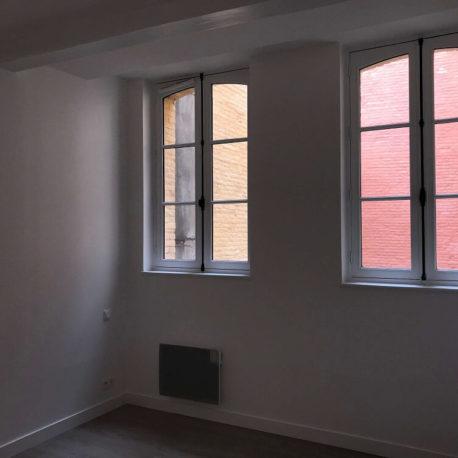 Chambre 2 – appt F3 – rue de Clieu – Dieppe – Exclusivité – ST Immobilier Elbeuf