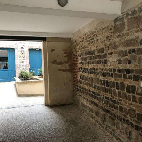 Entrée immeuble rue des Bonnes Femmes – Dieppe – Exclusivité – ST Immobilier Elbeuf