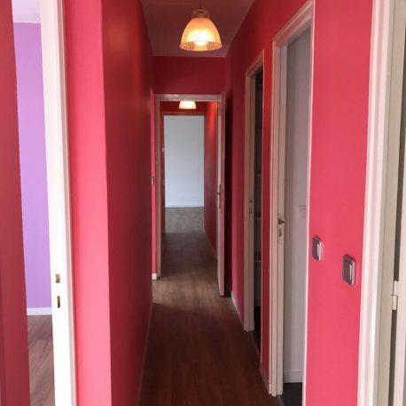 Couloir – appartement F3 – Elbeuf – ST Immobilier Elbeuf