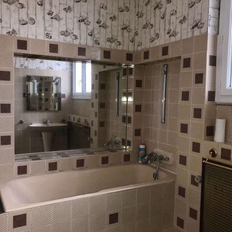 Salle de bains appartement Elbeuf