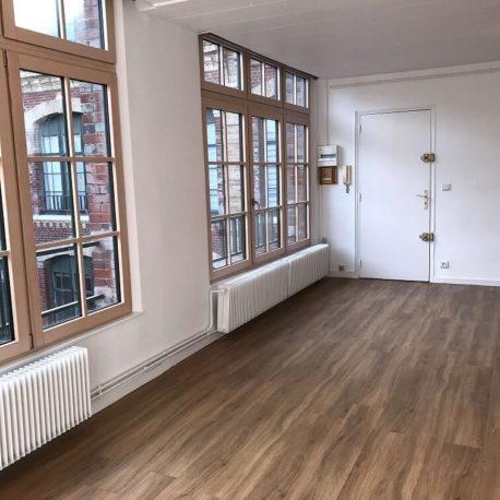 Salle de séjour – appartement F3 – Elbeuf – ST Immobilier Elbeuf
