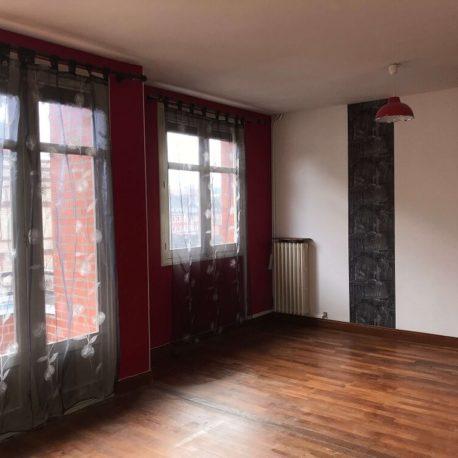 Salle de séjour salon appartement Elbeuf