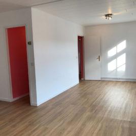 Salle de séjour-salon - appartement F3 - Elbeuf - ST Immobilier Elbeuf