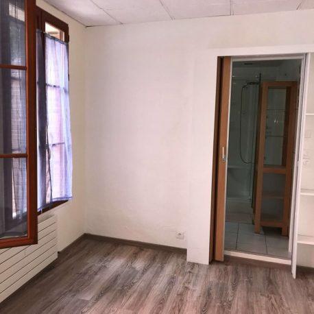Chambre appartement F2 bis – Caudebec les Elbeuf
