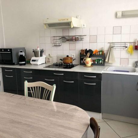 Cuisine aménagée – appartement F2 bis – Caudebec les Elbeuf – ST Immobilier Elbeuf