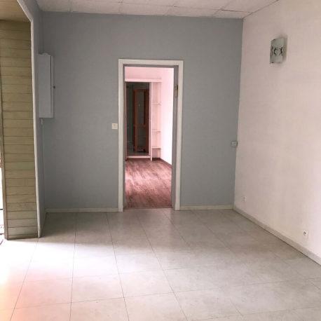 Salle de séjour-salon appartement F2 bis – Caudebec les Elbeuf